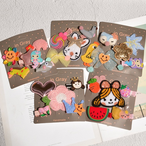 Cute children's fashion bb clip  NHAQ305002's discount tags