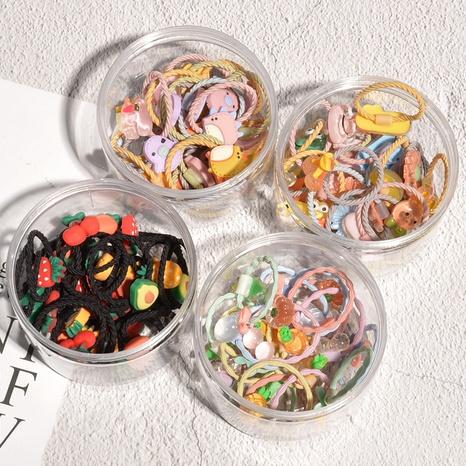 Ensemble de bagues à cheveux mignonnes pour enfants NHAQ305003's discount tags