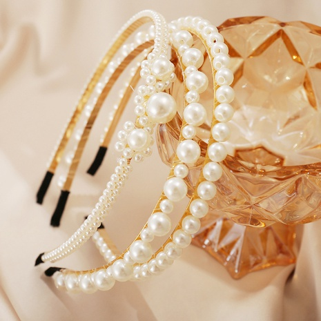 einfaches Perlen Retro Stirnband NHYI305016's discount tags