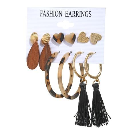 Retro einfache kreative Stil Ohrringe gesetzt NHYI305032's discount tags