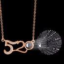100 languages I love you pendant necklace NHRN304687