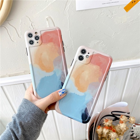 Étui pour téléphone portable Apple 11Pro 12mini en fleurs aquarelle pour iPhone8plus SE2 XR NHFI305301's discount tags