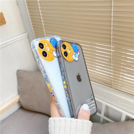 coque de téléphone transparente imprimée astronaute pour iPhone8P se2 XR NHFI305403's discount tags