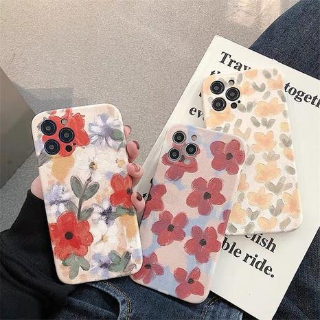 Coque de téléphone de fleur de peinture à l'huile rétro pour iPhone8plus XR SE2 NHFI305421's discount tags