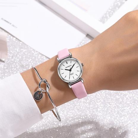 reloj de pulsera casual de cuarzo con cinturón fino de moda NHSS305425's discount tags