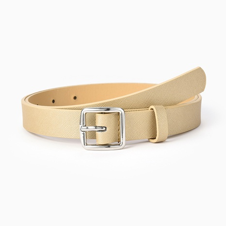 fashion simple buckle belt  NHPO305427's discount tags