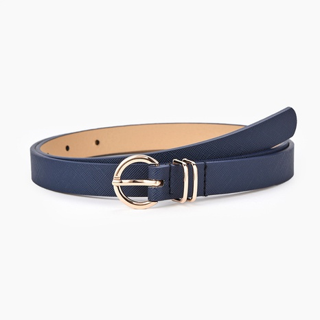 fashion creative simple pure color belt NHPO305428's discount tags