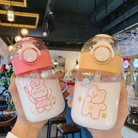 cute straw glass water cup NHtn305455's discount tags