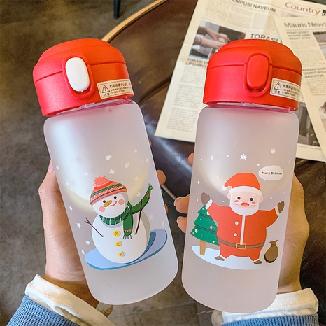 cartoon simple glass anti-choke heat-resistant water cup NHtn305478's discount tags