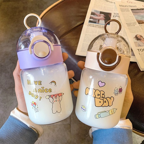 cartoon printing children's glass water cup  NHtn305479's discount tags