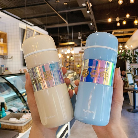 Creative simple portable stainless steel vacuum flask NHtn305480's discount tags