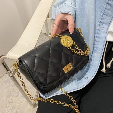 bolso de mensajero de moda rombo NHRU305525's discount tags