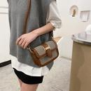 fashion oneshoulder messenger small square bag NHRU305526