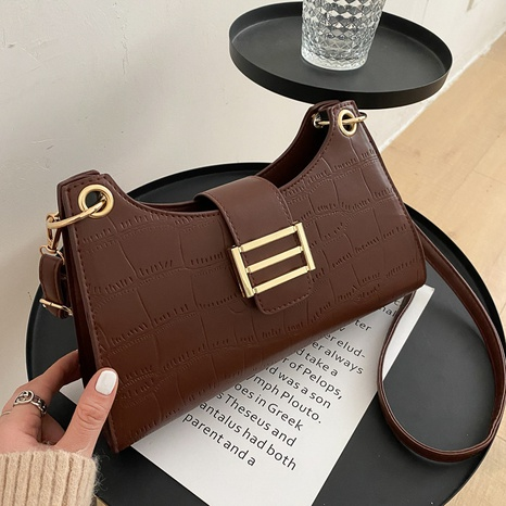 Casual Simple Fashion Underarm Bag NHRU305532's discount tags