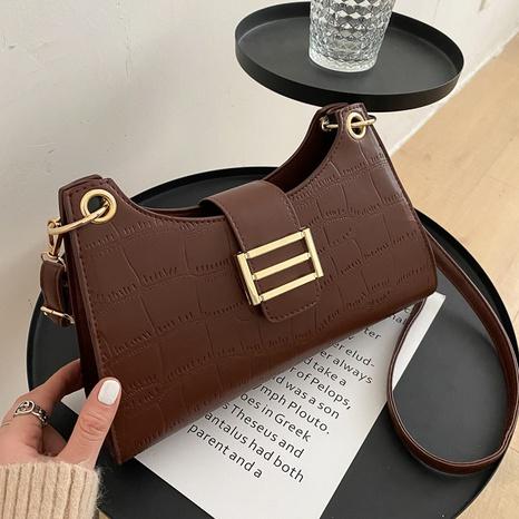 Bolsa de axilas de moda simple casual NHRU305532's discount tags