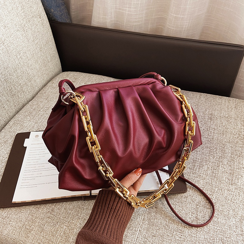 fashion shoulder armpit cloud bag NHRU305547