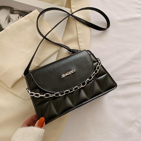 bolso de mensajero de un solo hombro de cadena casual de moda NHRU305550's discount tags