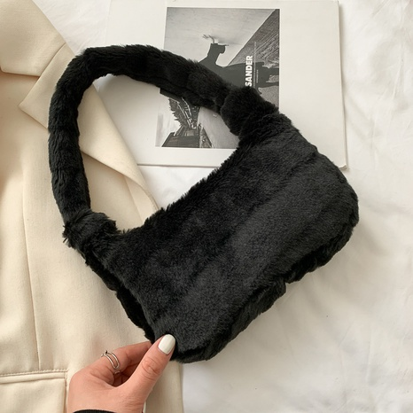 bolso de felpa casual lindo suave NHRU305572's discount tags