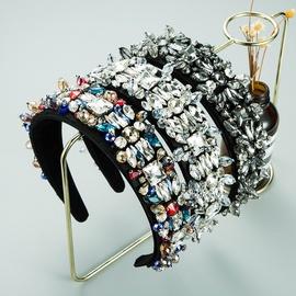Mode Glas Diamant Kristall Stirnband NHLN305581
