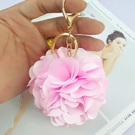 flower ball alloy keychain  NHAP305592's discount tags