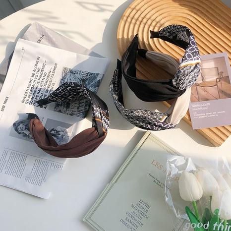 Einfaches Totemkreuz-Stirnband mit Trefferfarbe NHSM305171's discount tags