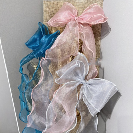 horquilla de lazo de cinta de hilo de moda NHSM305176's discount tags