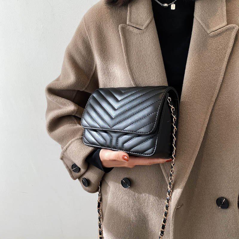 simple fashion shoulder rhombic bag  NHTG305664