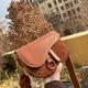 Retro fashion wide shoulder strap saddle bag NHTG305666