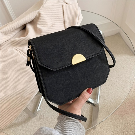 retro one-shoulder simple small square bag NHEX305714's discount tags