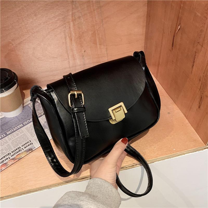 retro one-shoulder fashion small bag NHEX305721