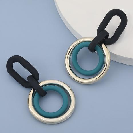 Korean CCB resin geometric earrings  NHJE305794's discount tags