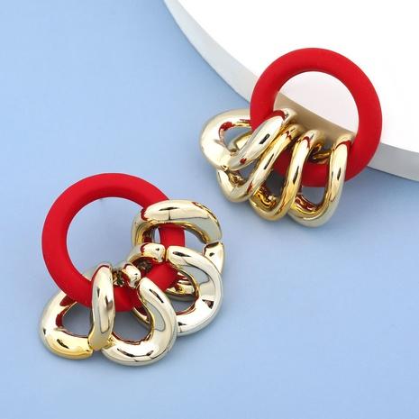 Retro CCB resin geometric earrings NHJE305795's discount tags