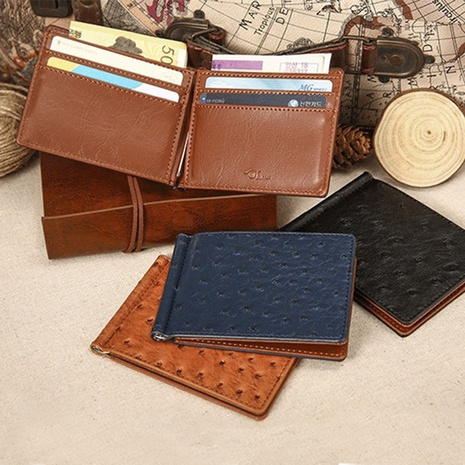 fashion retro leather wallet wholesale NHBN305804's discount tags