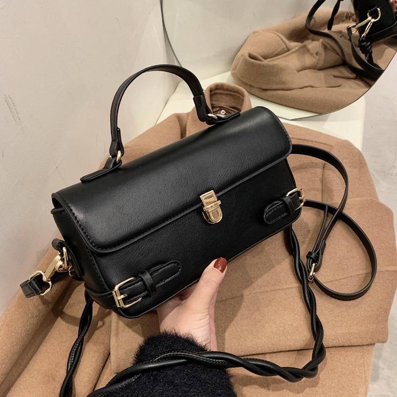 Retro fashion small messenger bag NHLH305826