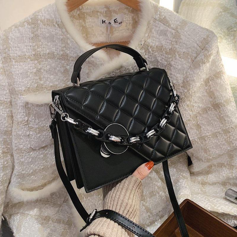 fashion simple small square bag  NHLH305820