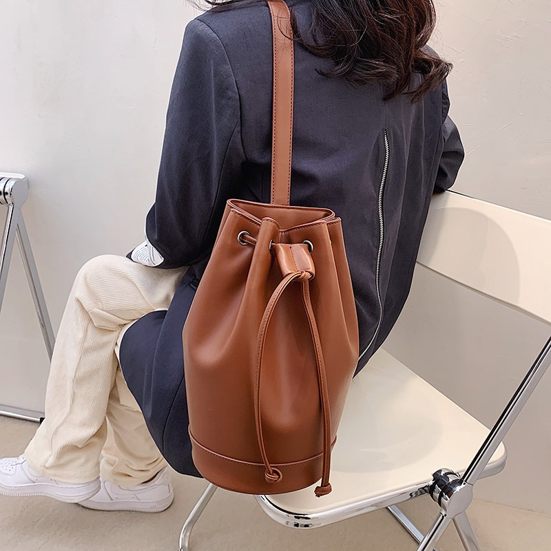 Retro fashion bucket bag NHLH305846
