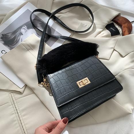 Mode lässig pelzige Handtasche NHEX305969's discount tags