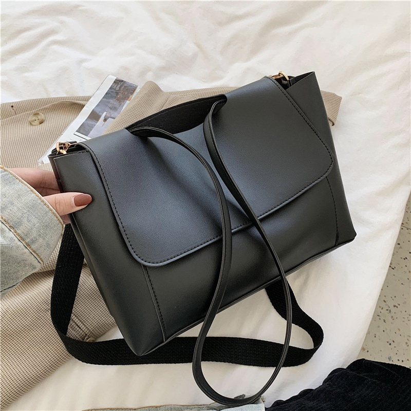 Simple fashion large capacity shoulder bag  NHEX305981