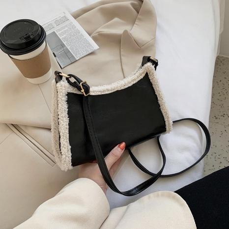 Lammwolle Plüsch große Tasche NHEX305982's discount tags