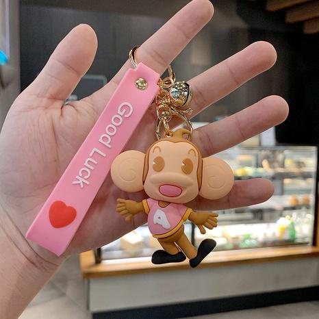 Cartoon Monkey Anime Key Chain Creative School Bag Pendant  NHQYF442174's discount tags