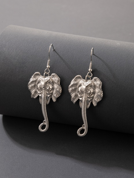 2021 European and American cross-border new jewelry elephant earrings NHGY445011's discount tags