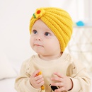 2021 autumn and winter childrens woolen knitted hats cute little flowers warm caps  NHWO442991