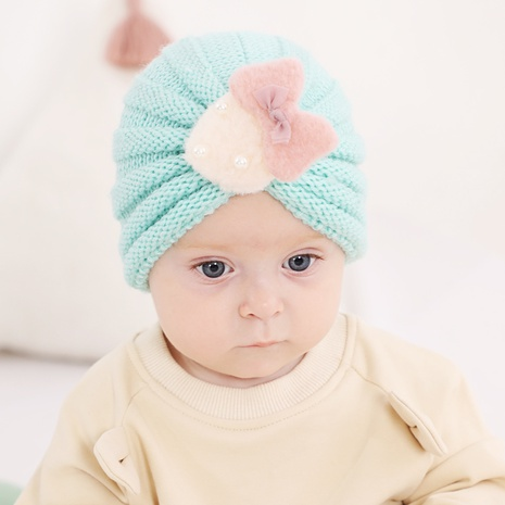 fashion children's knitted hat for autumn and winter warmth strawberry woolen hat 21 colors NHWO442992's discount tags
