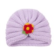 NHWO2172728-Purple-(Yarn-Flower)