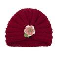 NHWO2172731-Wine-red-(yarn-flower)