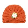 NHWO2172745-Orange-(Yarn-Flower)
