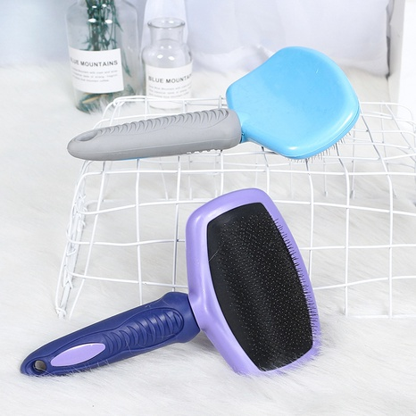 pet air cushion steel needle brush special brush for opening knots hair removal pet brush  NHPSM443429's discount tags