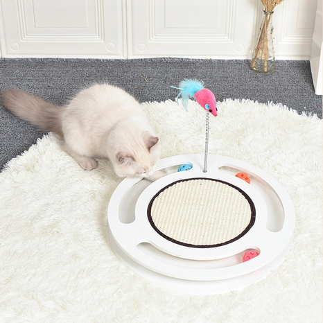 new cat scratching board pet grinding claw wear-resistant sisal toy  NHPSM443441's discount tags