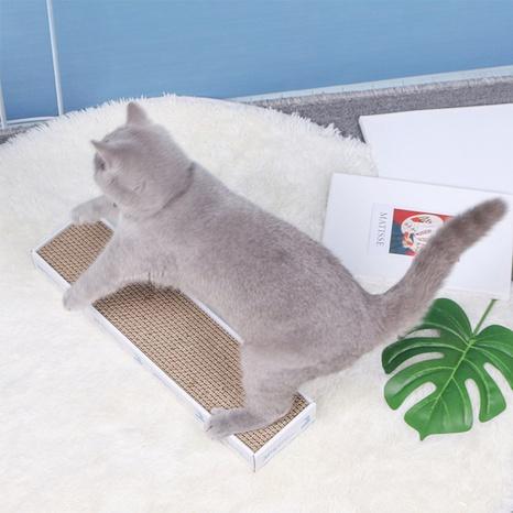 corrugated paper cat scratcher cat toy board grinder to send catnip pet cat cat supplies NHPSM443447's discount tags
