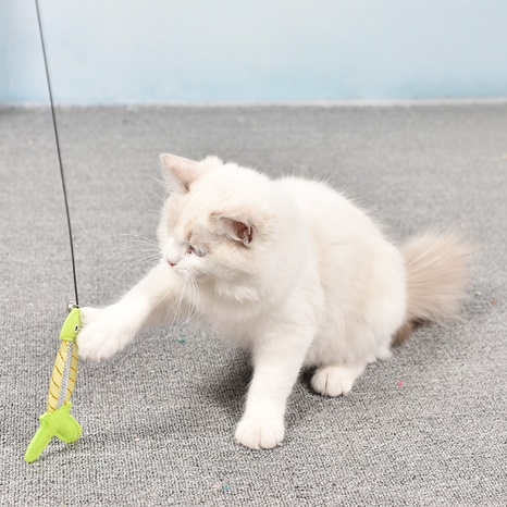 funny cat stick long rod fishing rod bite resistant cat stick  NHPSM443451's discount tags